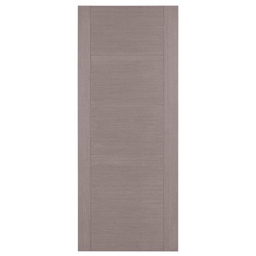 Puerta de interior corredera noruega gris de 72.5 cm