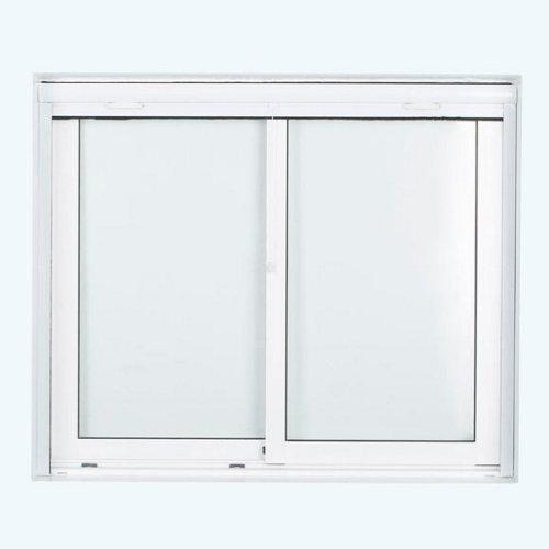 Mosquitera blanca enrollado vertical de fibra de vidrio de 140 x 140 cm