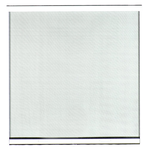 Mosquitera blanca enrollado vertical de fibra de vidrio de 120 x 120 cm