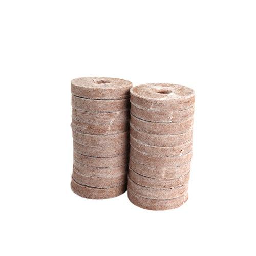 20 pastillas de fibra de coco 50 mm
