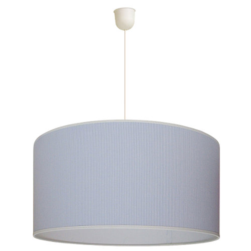 Lámpara de techo infantil azul 1 luz