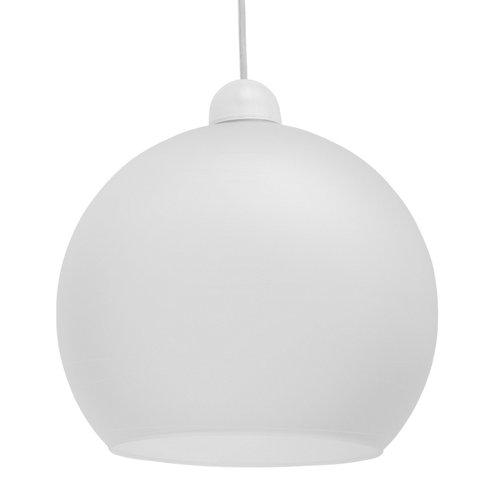 Lámpara de techo boulé plateada 1 luz
