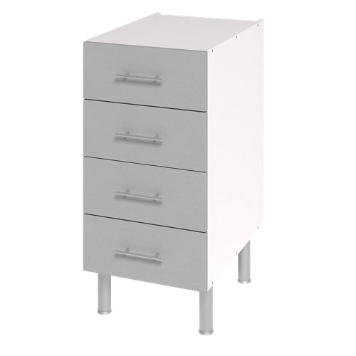 Módulo basic 4c 40x70 cm gris