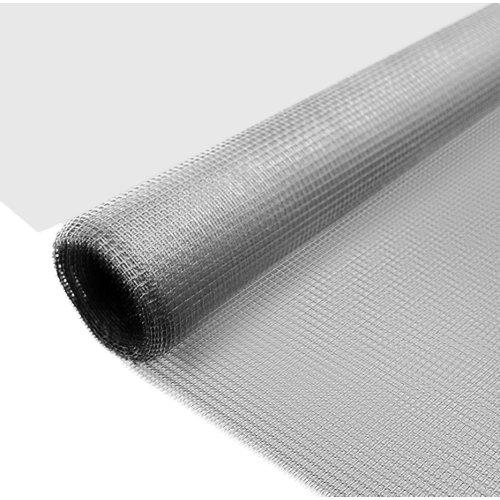 Mosquitera fija solar con velcro adhesivo de 130x150 cm (ancho x alto)