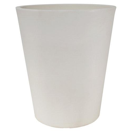 Maceta de polietileno newgarden blanco 41x54 cm