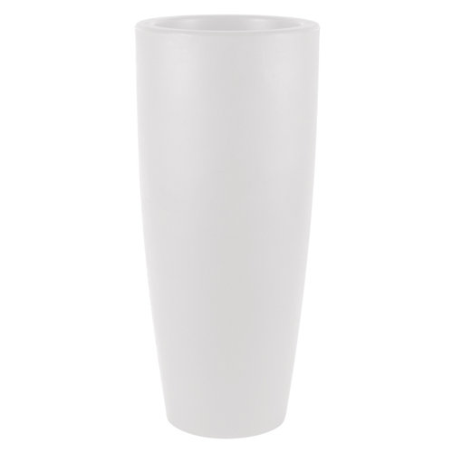 Maceta de polietileno newgarden blanco 40x90 cm