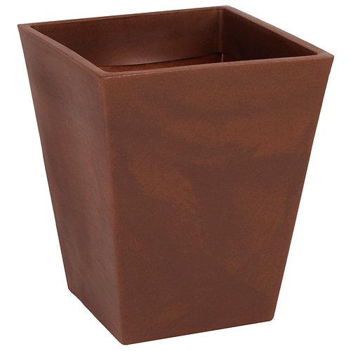 Maceta de polietileno newgarden marrón 52x63 cm