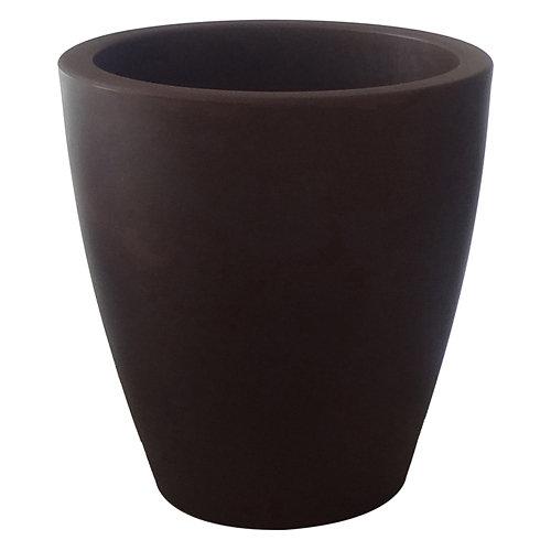 Maceta de polietileno newgarden negro 40x43 cm
