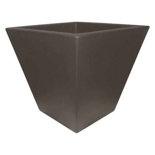 Maceta de polietileno newgarden negro 40x37 cm