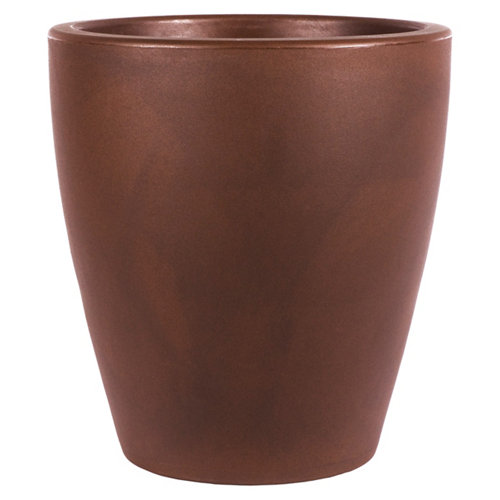 Maceta de polietileno newgarden marrón 30x32 cm