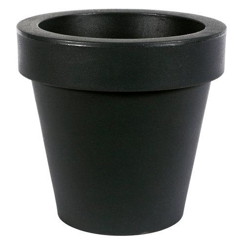 Maceta de polietileno newgarden negro 90x86 cm