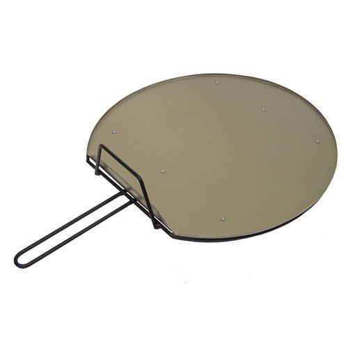 Plancha para barbacoa de acero inoxidable 60x10.5x81 cm