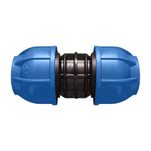 Enlace recto para tubería de polietileno (pe) 32 mm 10 bar