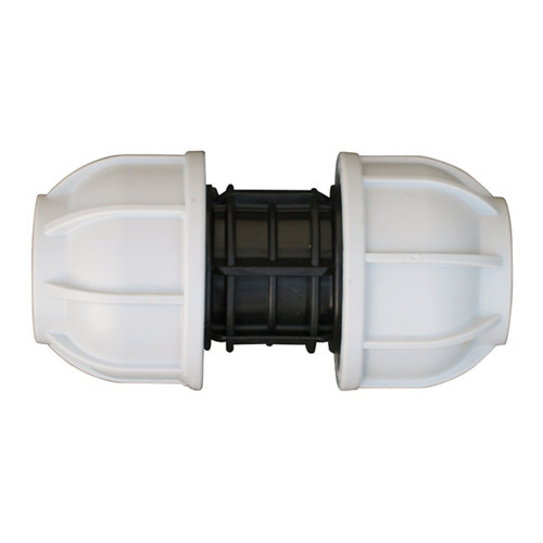 Enlace reducido para tuberías de polietileno (pe)25mm – 20mm 10 bar