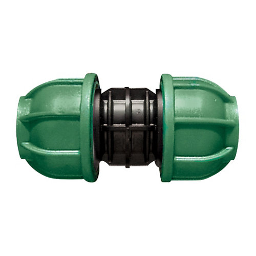 Enlace recto para tuberías de polietileno (pe) 20 mm 10 bar