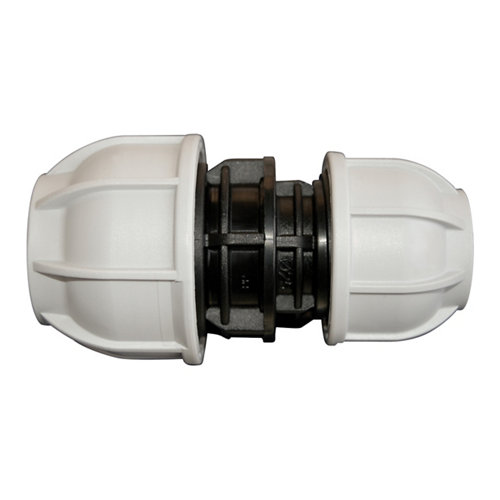 Enlace reducido para tuberías de polietileno (pe) 32 mm – 25 mm 10 bar