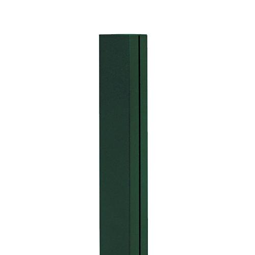 Poste de aluminio para panel mosaic verde 6x6x215 cm