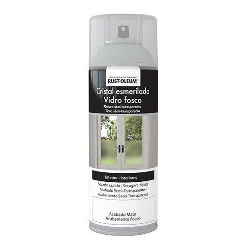 Spray cristal esmerilado rustoleum semitransparente 400ml