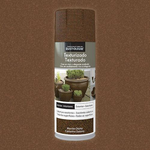 Spray pintura rust-oleum efecto textura marrón otoño 0,4l