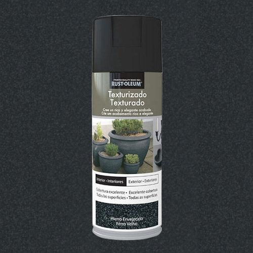 Spray pintura rust-oleum efecto textura hierro viejo 0,4l