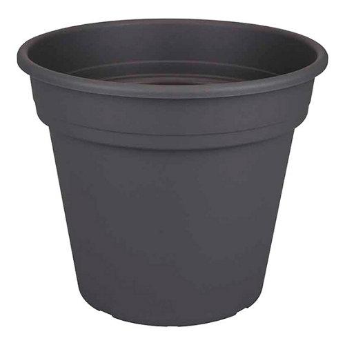 Maceta de polipropileno naterial negro 30x25.5 cm