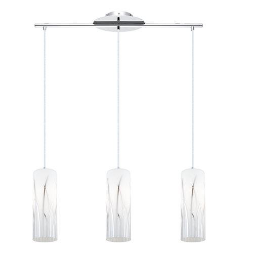 Lámpara de techo rivato blanca 3 luces