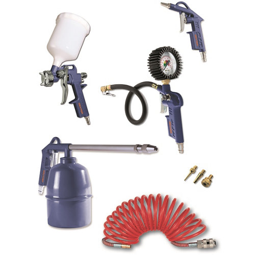 Set de herramientas neumáticas dexter 8 piezas