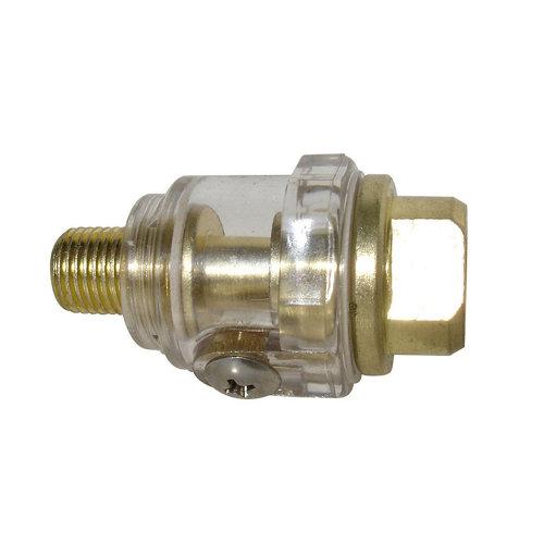 Mini lubrificador compresor dexter con una presión de 8 bares