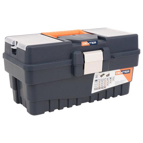 Caja de herramientas dexter con capacidad de 14 litros