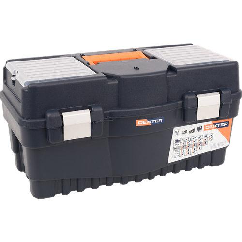 Caja de herramientas dexter con capacidad de 32 litros