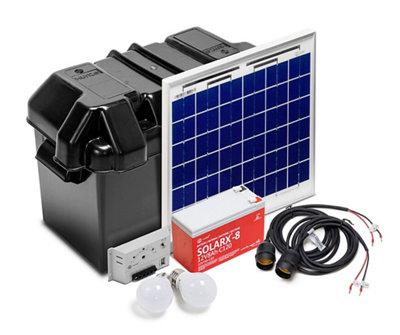 Kit Solar de Iluminación LED SOLARLIFE-XUNZEL-15i
