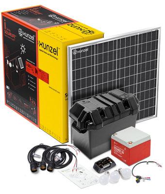 Kit Solar de Iluminación LED de alta eficiencia SOLARLIFE