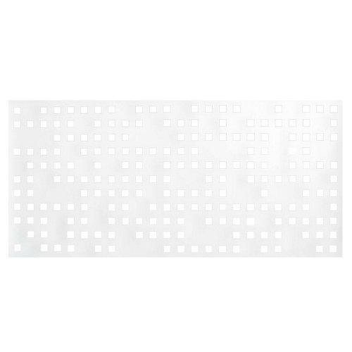 Valla s/muro tetris 189x72 cm blanca