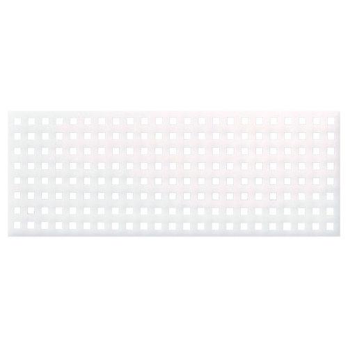 Valla s/muro square 189x72 cm blanco