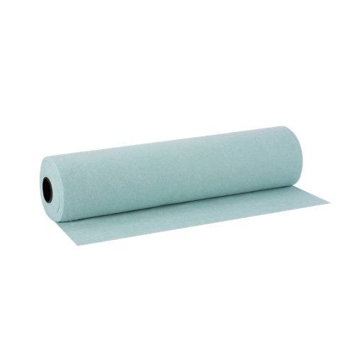 """""""Malla de geotextil no tejido a base de fibra corta de poliéster en color blanco. Medidas: 1,45 x 52 m (ancho x largo) y un espesor de 2 mm."""