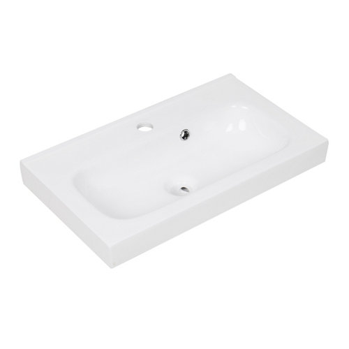 Lavabo new remix blanco 61x15x35 cm