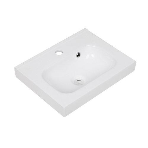 Lavabo new remix blanco 46x15x35 cm