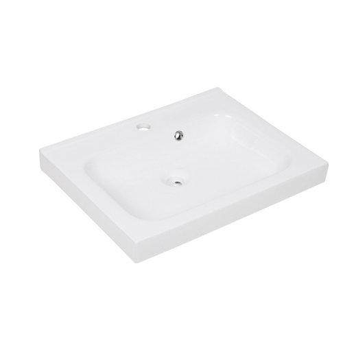 Lavabo new remix blanco 61x14x48.5 cm