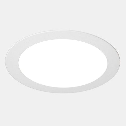 Foco downlight led extraplano redondo blanco 18w 5500k