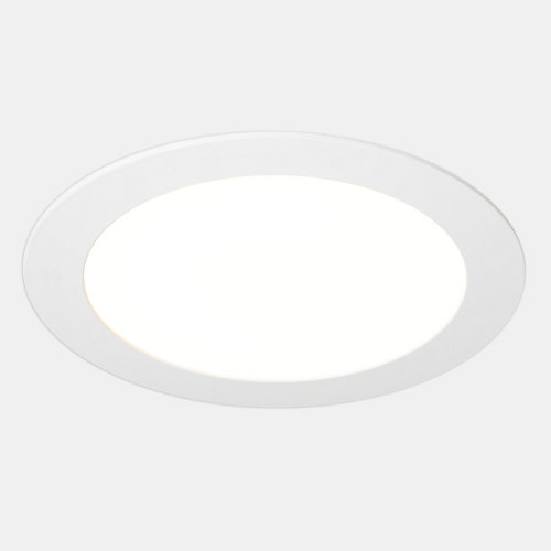 Foco downlight led extraplano redondo blanco 18w 2700k