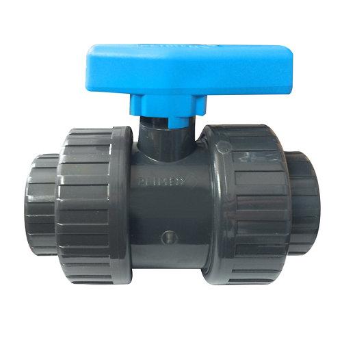 """Válvula de encolar tuberías de piscina 1 1/2"""" de 1130 mm"""