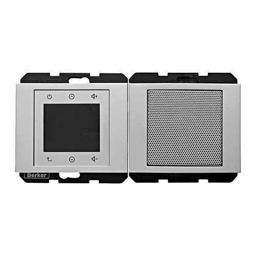 Radio hager berker k1-k5 aluminio