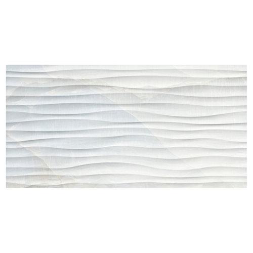 Baldosas murales deco dubai de porcelánico 32x62,5 azul