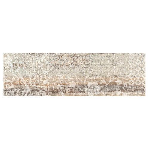 Pavimento porcelánico legend 20,2x66,2 decorado miel c1 artens