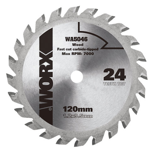 Hoja de sierra para madera worx wa5046 de 9.5 mm