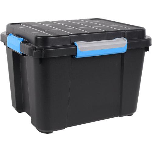 Caja de plástico de 34x49.5x39 cm y capacidad de 45l