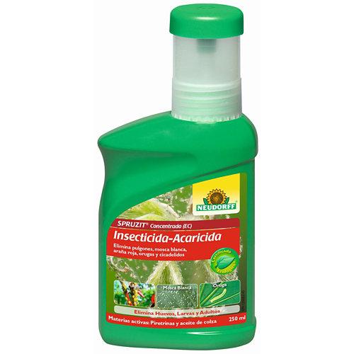 Insecticida y acaricida concentrado eco spruzit neudorff 250 ml hasta 25 l