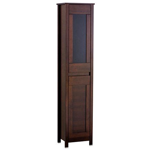 Columna de baño versalles marrón 40x185x32 cm