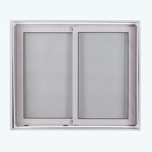 Mosquitera fija para ventana de fibra de vidrio de 100 x 120 cm