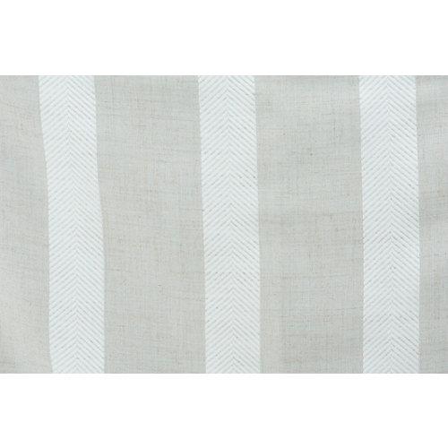 Tela visillo en bobina rústico combre beige ancho 100cm